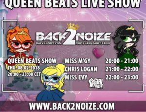 Back2Noize Radio – Queen Beats Show / Chris Logan (08.02.2018)